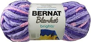 Bernat Blanket Yarn Super Bulky #6 5.3 oz 108 Yds ea