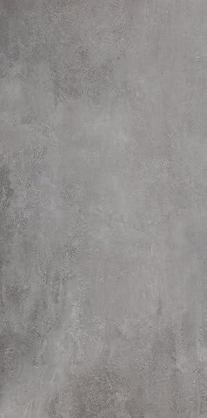 Bodenfliese Titan Grau Matt 60x120cm Feinsteinzeug Bodenfliesen