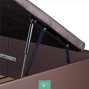 Dreaming Kamahaus Pack de 2 Sistemas de Elevación Completos con Amortiguadores para Canapé Abatible - 1500 Newton: Amazon.es: Hogar