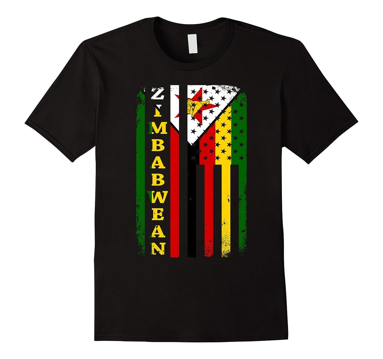 Zimbabwe flag awesome shirt-FL