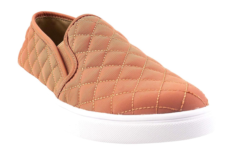 66608c2e53546 Steve Madden Women's Ecntrcqt Slip-On Sneaker, Salmon, 8 M