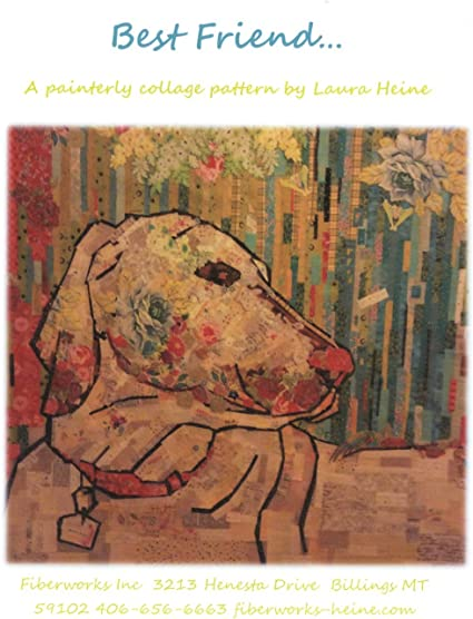 Emerson Puppy Collage Wall Hanging Quilt Pattern by Fiberworks