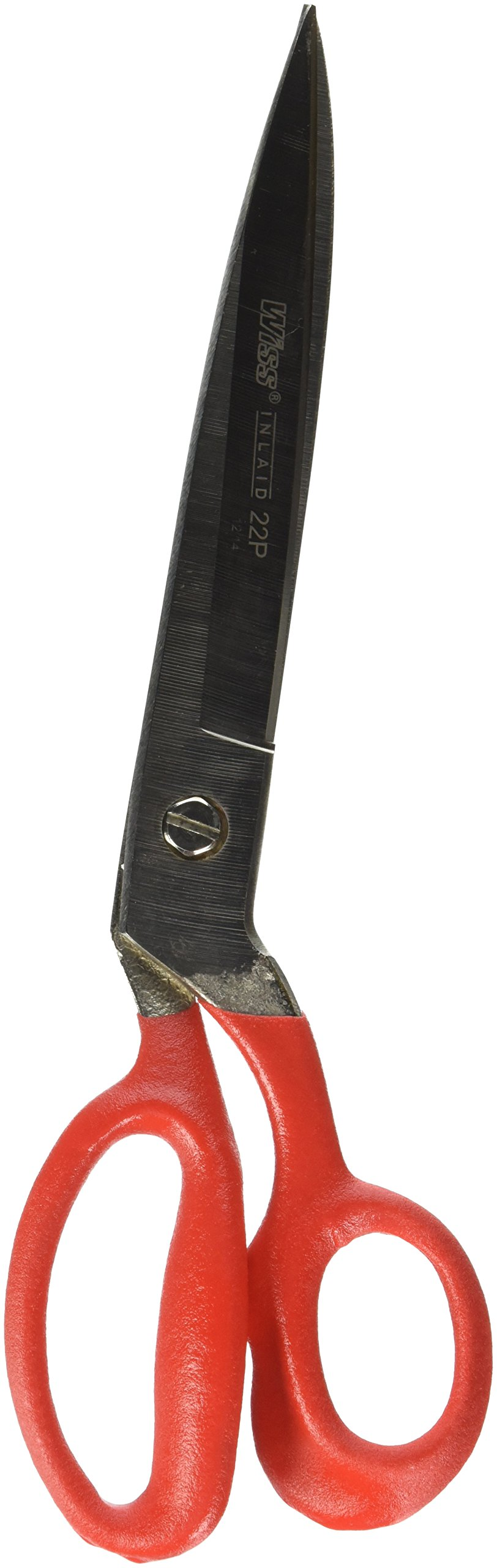 Wiss 22PN 12 1/4'' Heavy Duty Industrial Shears, Inlaid, Cushion Grip