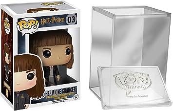 Funko Pop Movies: Harry Potter - Hermione Granger Vinyl Figure + Protective Case