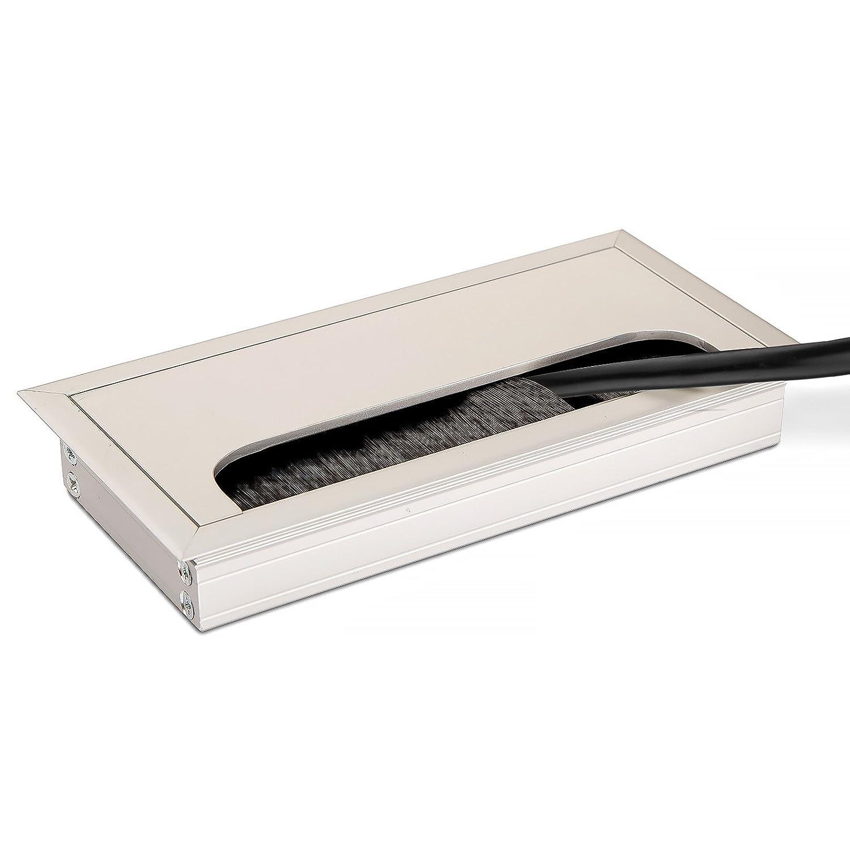 SO-TECH® Cable Glándula CAVO 160 x 80 mm Angular de Aluminio Color Plata Anodizado Cable Salida: Amazon.es: Bricolaje y herramientas