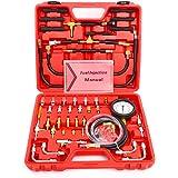 FreeTec Kit manomètre de pression carburant de 70 pièces 0-10 bar pour voiture Outil automobile