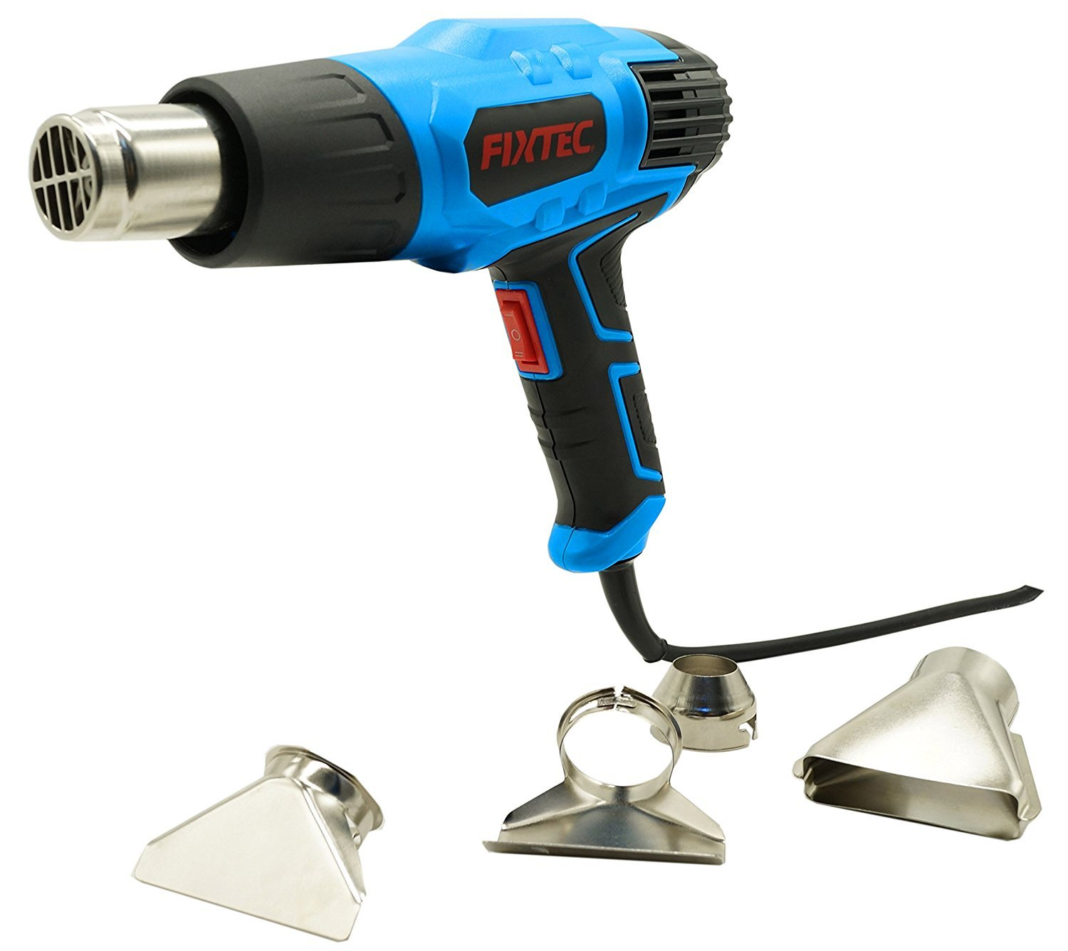 2018 JUST RELEASED Heat gun 1500W 662℉~1022℉ (350℃~550℃) with Heat Shrink Tubing Four Nozzle Attachments for Removing Paint, Bending Pipes, ShrinkingHeat Gun Heat Shrink Wrap