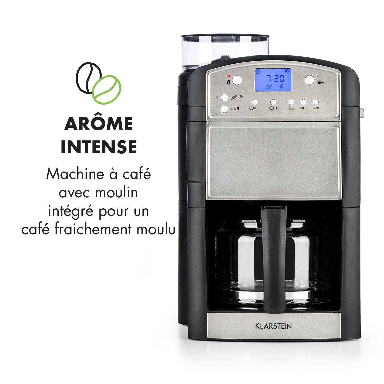 Klarstein Aromatica machine à café filtre filtre à charbon actif ... caea3147e9d5