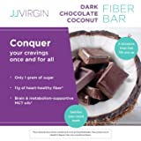 JJ Virgin Dark Chocolate Coconut Fiber Bars - 11g