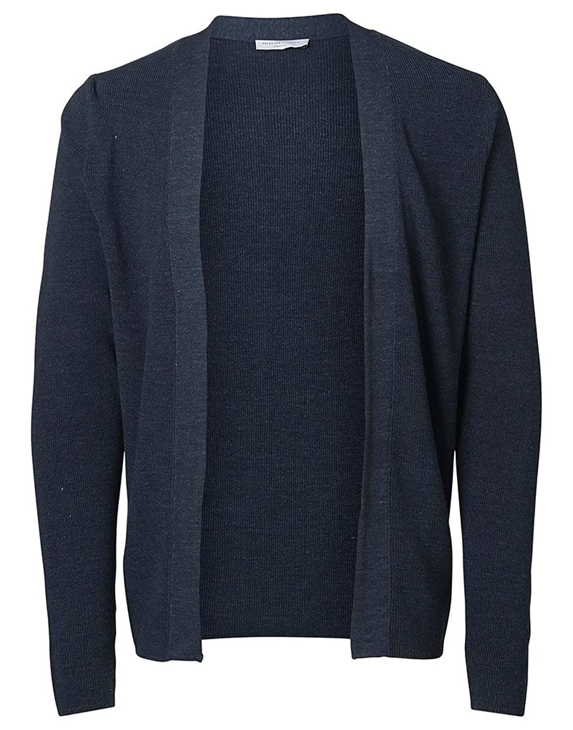 Selected Homme Chad Cardigan in Nazy Blazer