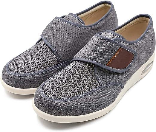 KANGLE Men's Diabetic Shoes Breathable