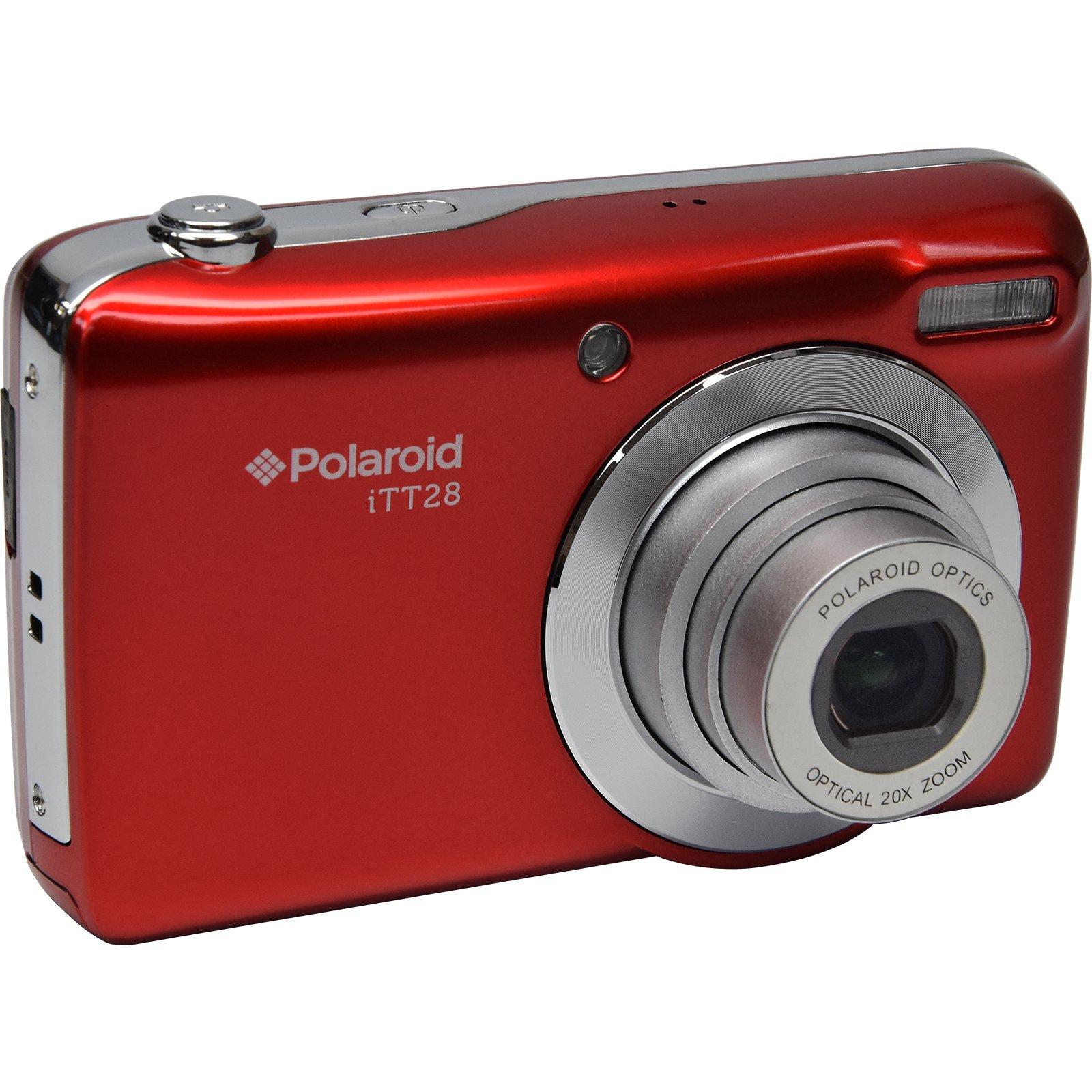 Polaroid iTT28 20MP 20x Zoom Digital Camera (Red) by Polaroid