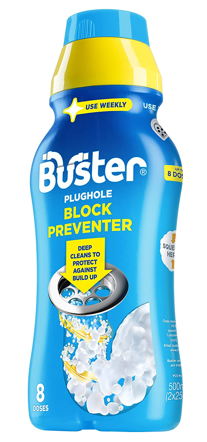 Buster Block Preventer, 500 ml, Pack of 6 Challs International 6180