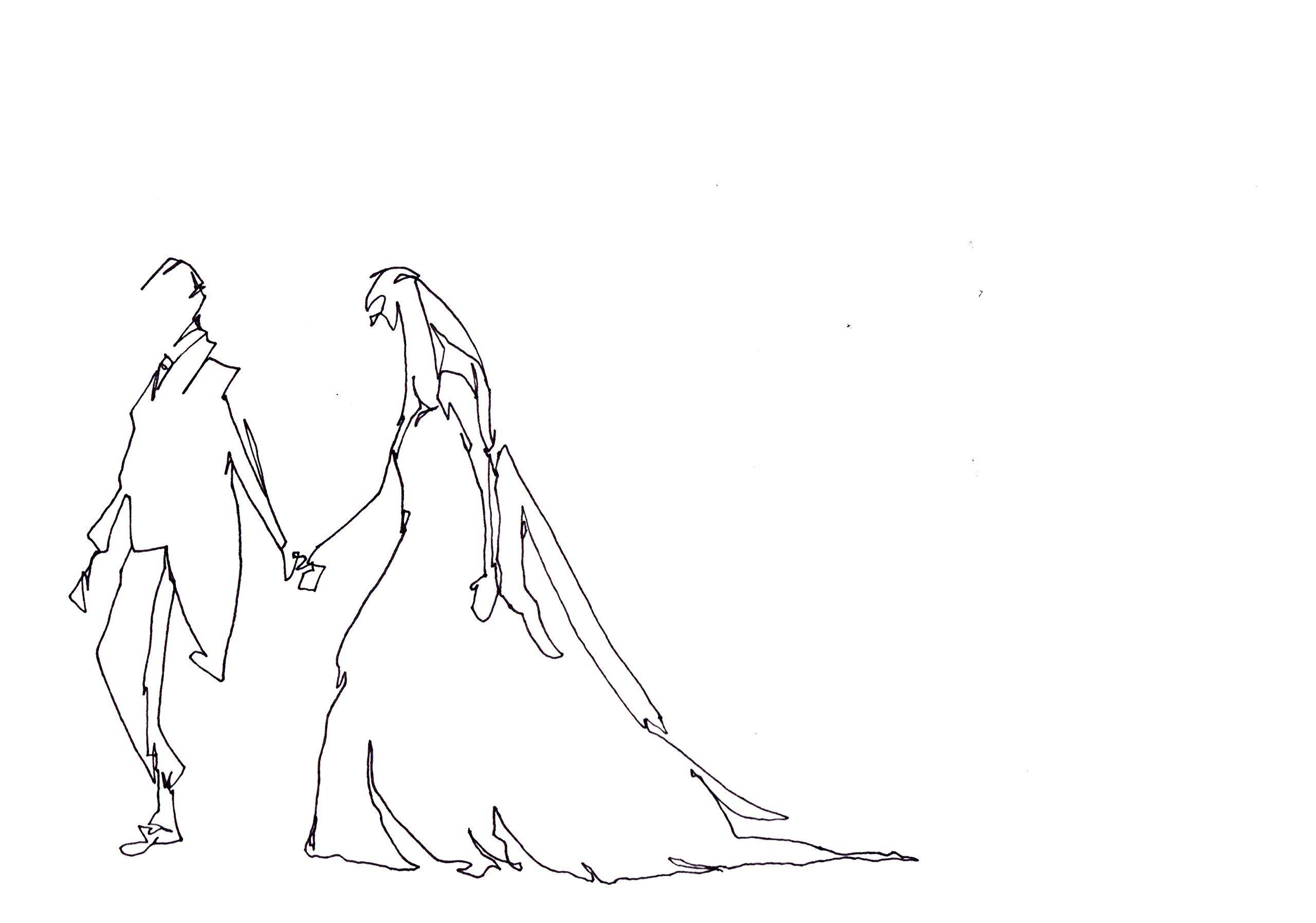 Wedding Walk by Love Lines