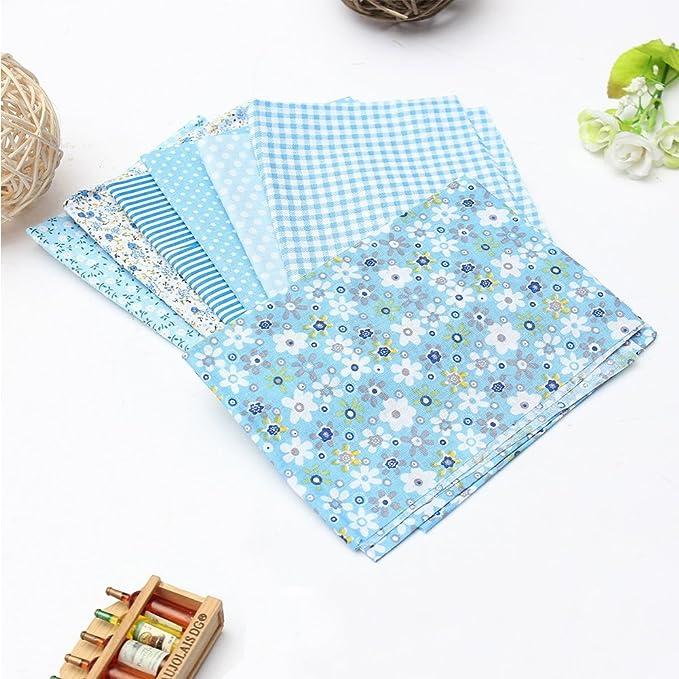 Yiuswoy - Juego de patchwork de costura impreso tela de ...