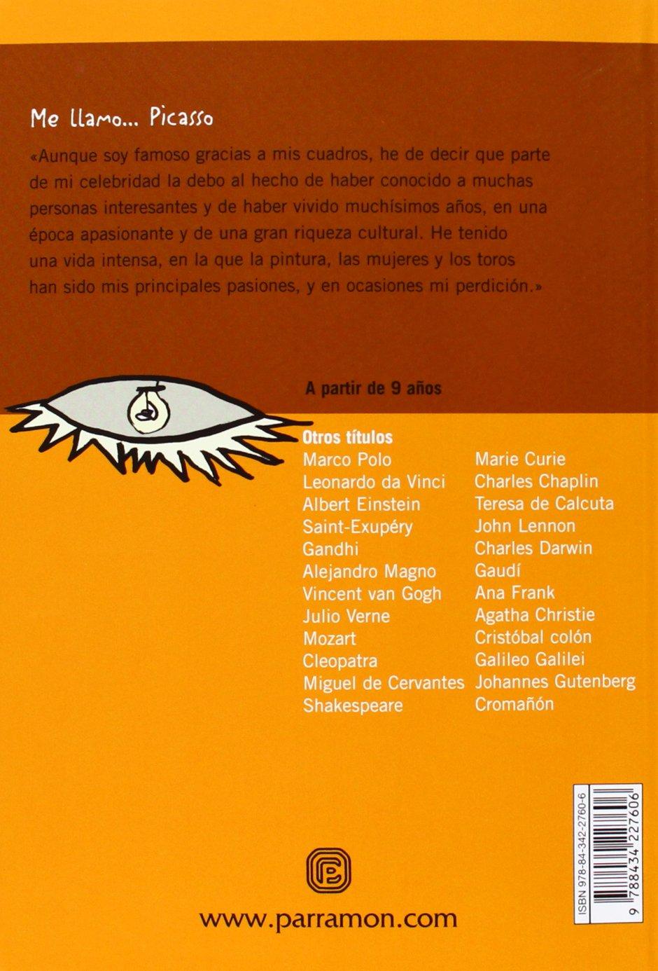 Me llamo… Picasso: Amazon.es: Monreal, Violeta, Bargalló, Eva: Libros