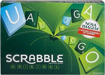 Mattel Games Juegos de mesa para niños Scrabble original portugués (Mattel Y9597): Amazon.es: Juguetes y juegos