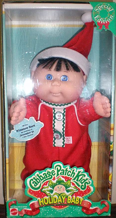 Cabbage patch kids holiday baby special edition 1997 delilah skye.