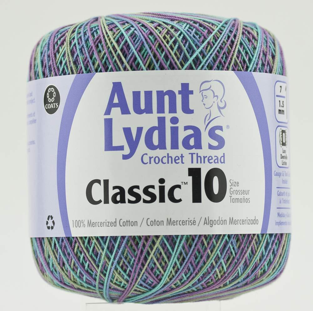 Aunt Lydia Cro Cottn Sh Purples 154.0026 2-Pack