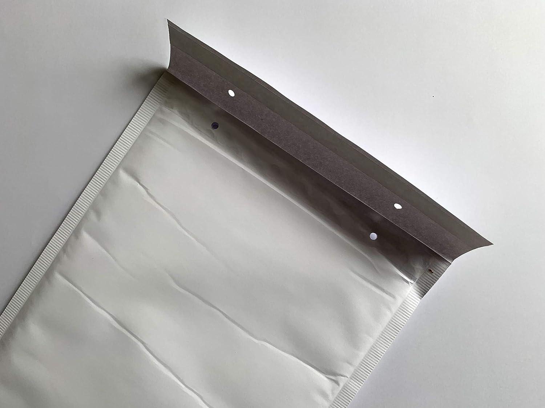 color blanco 350 x 240 mm con tira adhesiva C4 color Blanco 350 x 240 mm 25 sobres acolchados para A4