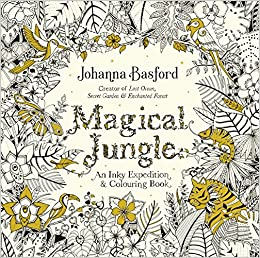 Magical Jungle An Inky Expedition Colouring Book Johanna Basford 9780753557167 Amazon Books