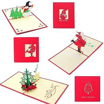 navidad 3d tarjetas de felicitacin joseche 3d pop up tner tarjetas de navidad - Tarjeta De Navidad En 3d