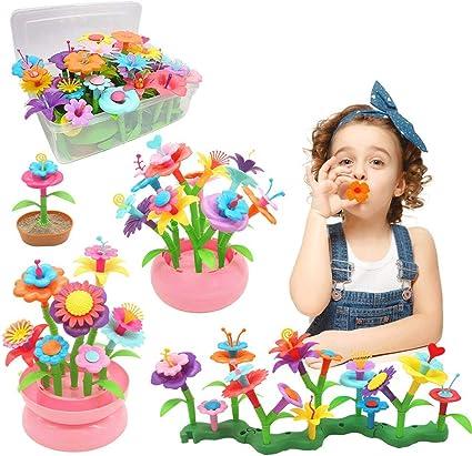 YORKOO Kinder Blumengarten Spielzeug