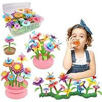 Byserten Flower Garden Building Toys for Girls STEM Flower Stacking Gardening Preschool Craft Kits Toys for 3 4 5 6 Year…
