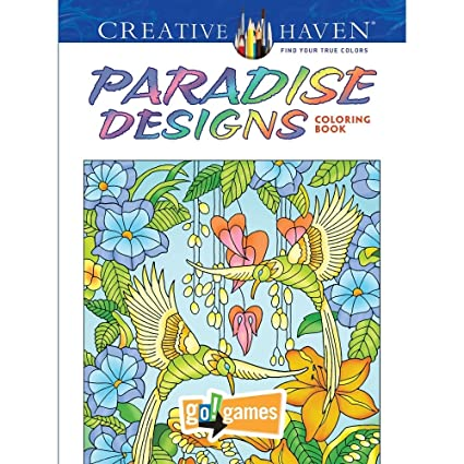 Paradise Designs Coloring Book