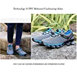 GOMNEAR Running Shoes Men Slip On Mesh Casual