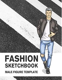Fashion Sketchbook Figure Template 430 Large Female Figure Template For Easily Sketching Your Fashion Design Styles And Building Your Portfolio Derrick Lance 9781799013280 Amazon Com Books
