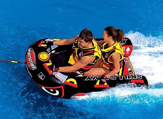 Sportsstuff 53 – 1385 Slalom Jockey Tubo de esquí acuático Action: Amazon.es: Deportes y aire libre