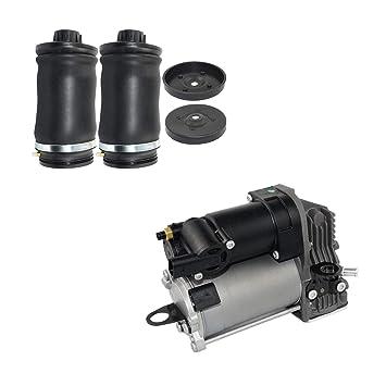 Aire suspensión Compresor + trasera Suspensión Neumática 1643200004 1643200204 1643200304: Amazon.es: Coche y moto