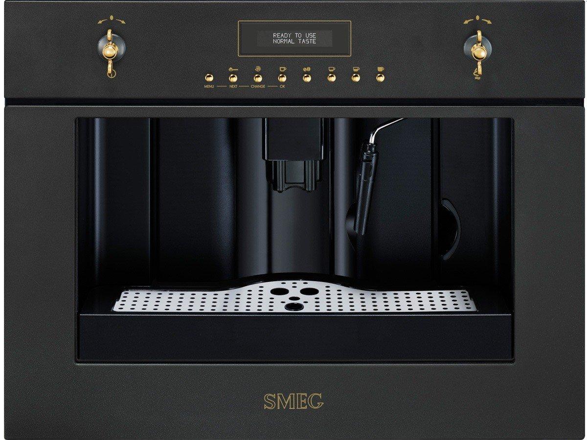 Smeg CM845A9 - Cafetera (Máquina espresso, 1,8 L, Granos de café ...