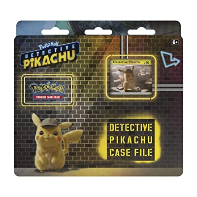 Pokemon TCG: Detective Pikachu Case File | 3 Booster Pack | A Promo Card | A Metallic Coin | Genuine Cards: Toys & Games