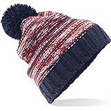 Beechfield Unisex Slalom Boarder Winter Beanie Bobble Hat