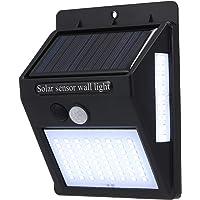 Lixada Solarlampen voor buiten, 100 stuks, ledparels, IP65, waterdicht, PIR-bewegingsmelder met zonne-energie, voor tuin…