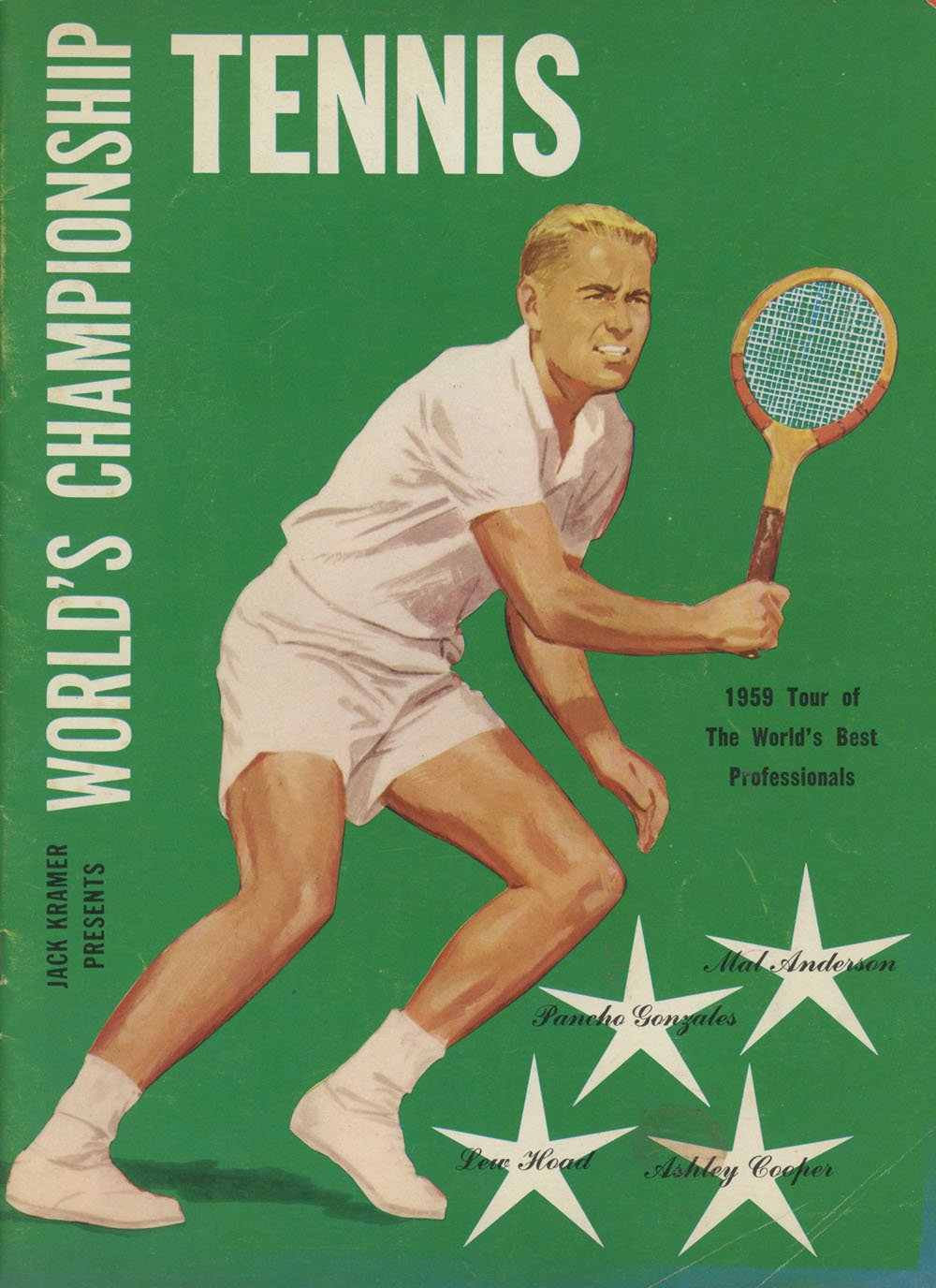 Jack Kramer Presents Worlds Championship Tennis, 1959 Tour Paperback – 1959
