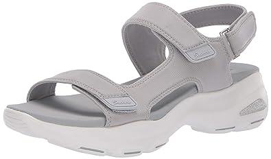 4e2729be5 Skechers Women s D Lites Ultra-Camp Cool-Adjustable Asymmetrical Slingback  Sandal