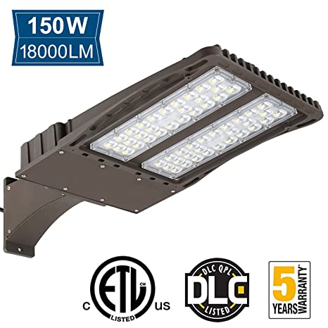 150w led parking lot shoebox light 18000lm 400w equiv arm mount 150w led parking lot shoebox light 18000lm 400w equiv arm mount area aloadofball Gallery