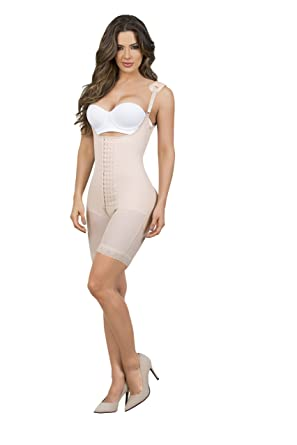 d890b1c5f9dfe MariaE Fajas After Tummy Tuck Garment High Compression Powernet Beige 9182   Amazon.co.uk  Clothing