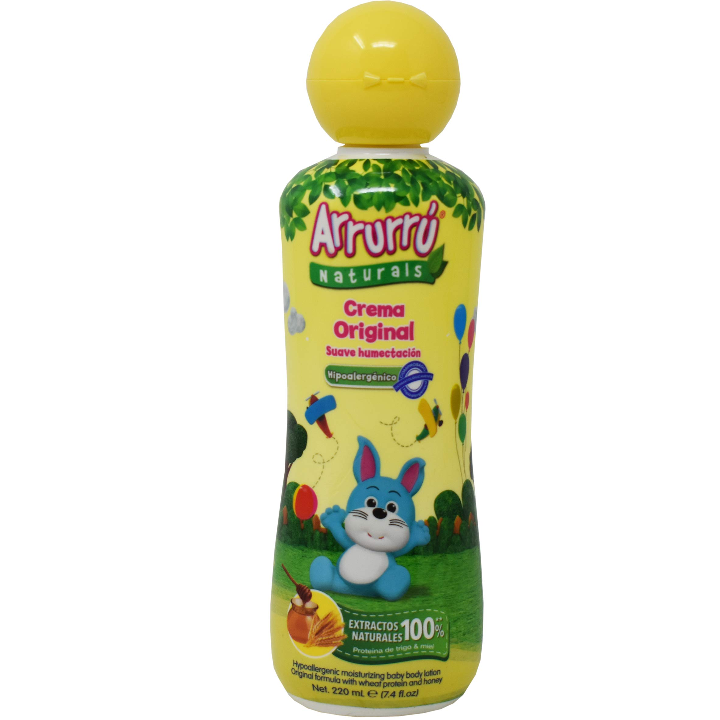 Arrurru Naturals Crema Humectante Formula Original (Moisturizing Body Lotion For Baby Original Formula) 7.4