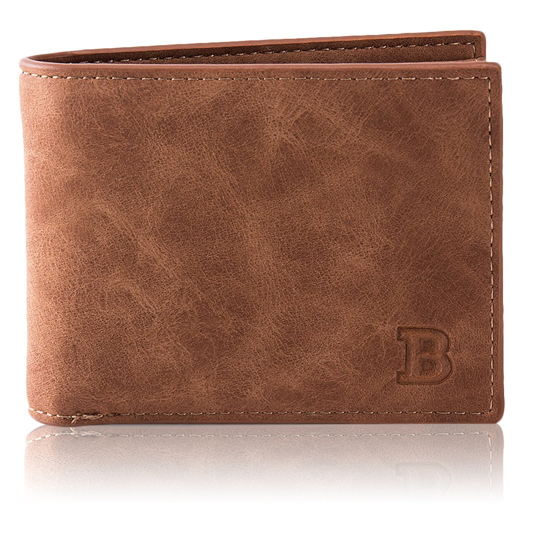 Baynne Baborry Fashion Mini Men's Luxury Business Wallets Card Holder Man Purse