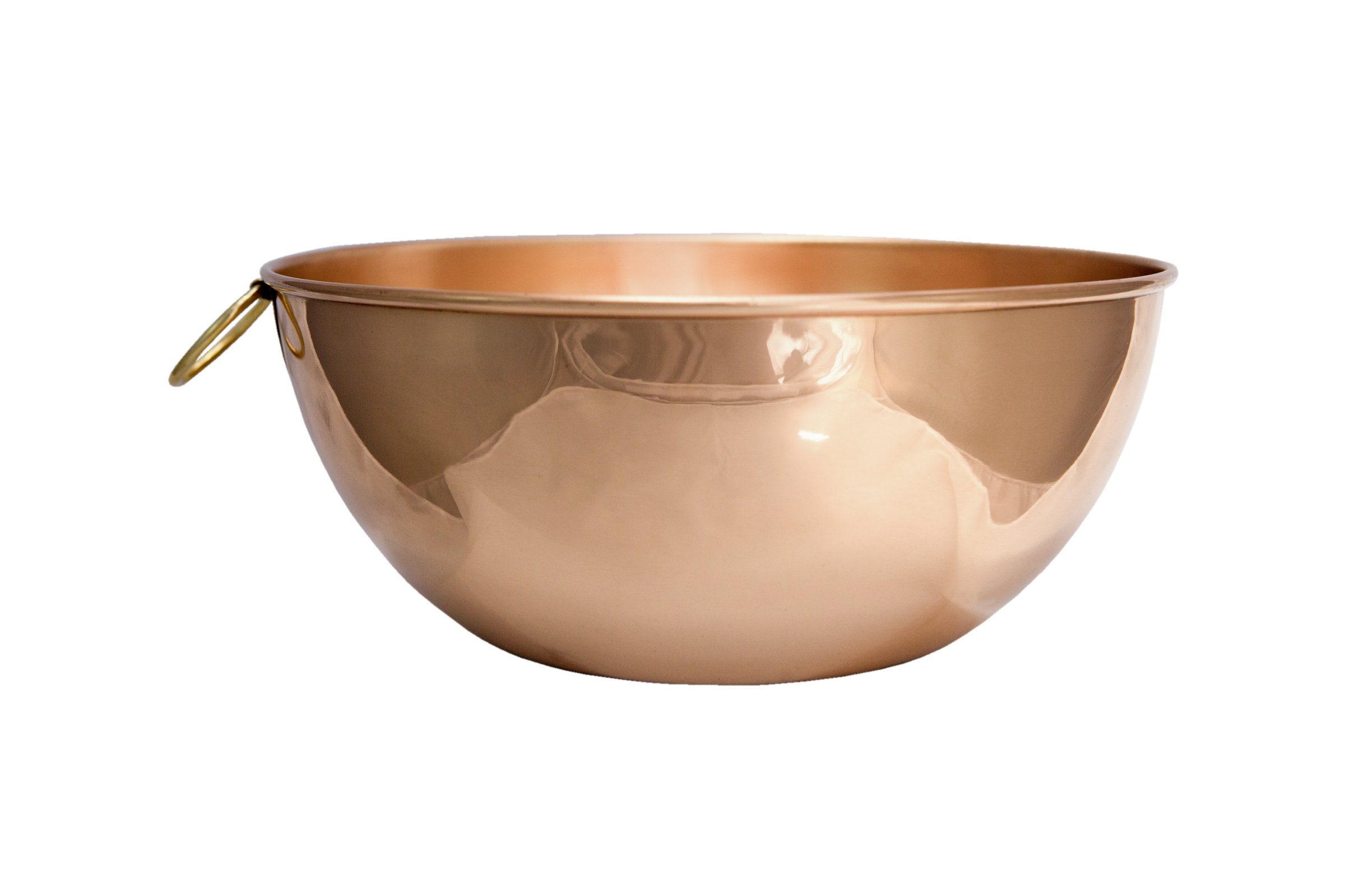 Premium Chef Quality Copper Mixing Bowl - 10.5'' diameter by Alchemade by Alchemade