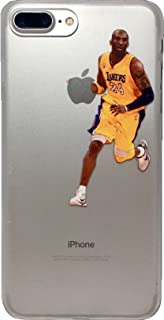 ECHC Soft TPU Basketball Case with Your Favorite Past and Present Players Compatible for iPhone (