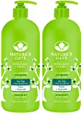 Nature's GateHair Care Rainwater Herbal Hair Care Tea Tree Calming Conditioner for Irritated, Flaky Scalp 32 fl. oz. (a)