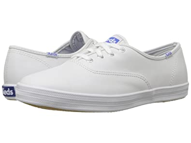 74a187be0afd4 Image Unavailable. Image not available for. Color  Keds Women s Champion  Original Leather Sneaker ...