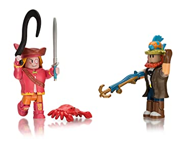 Roblox Celebrity Collection Bootleg Buccaneers Fisherman Joe Bittersweet Ruby Wake Two Figure Pack - the building arena roblox