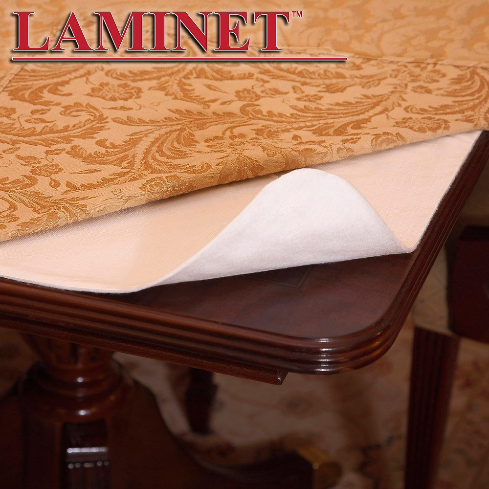 "LAMINET Deluxe Cushioned Heavy Duty Table Pad, 52"" x 108"","