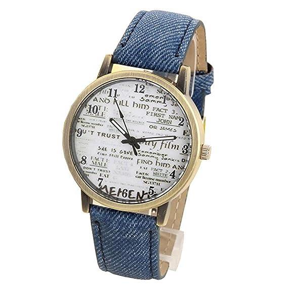Para mujer para hombre Unisex Reloj de cuarzo, Cooki Unique analógico Fashion Casual reloj de